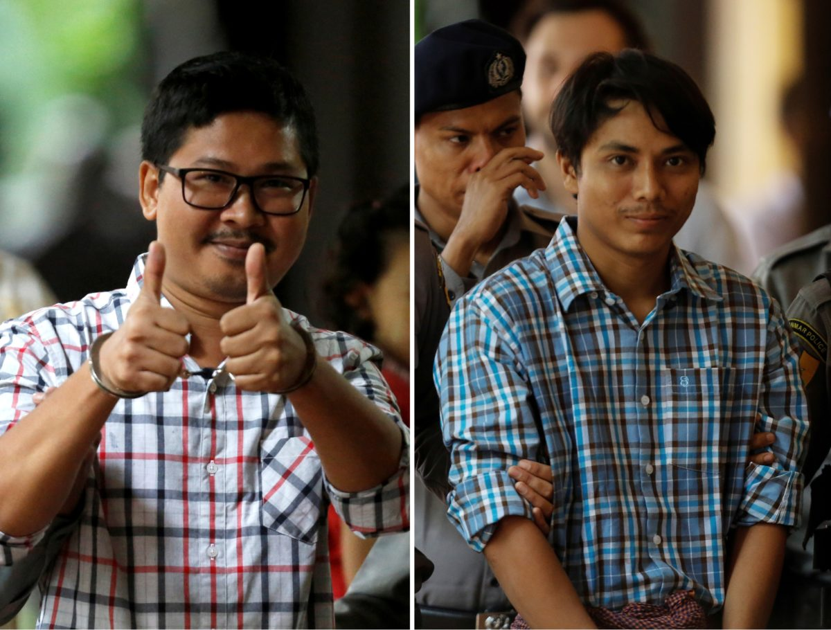 Myanmar High Court rejects appeal by Reuters reporters against seven-year sentence http://bit.ly/2AI0KTM