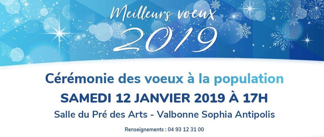 Nous vous attendons nombreux pour lancer cette année 2019 si particulière  pour  Valbonne  SophiaAntipolis ! Le programme des 500 ans du village de et  des 50 ... 55f0e5fd0bfb