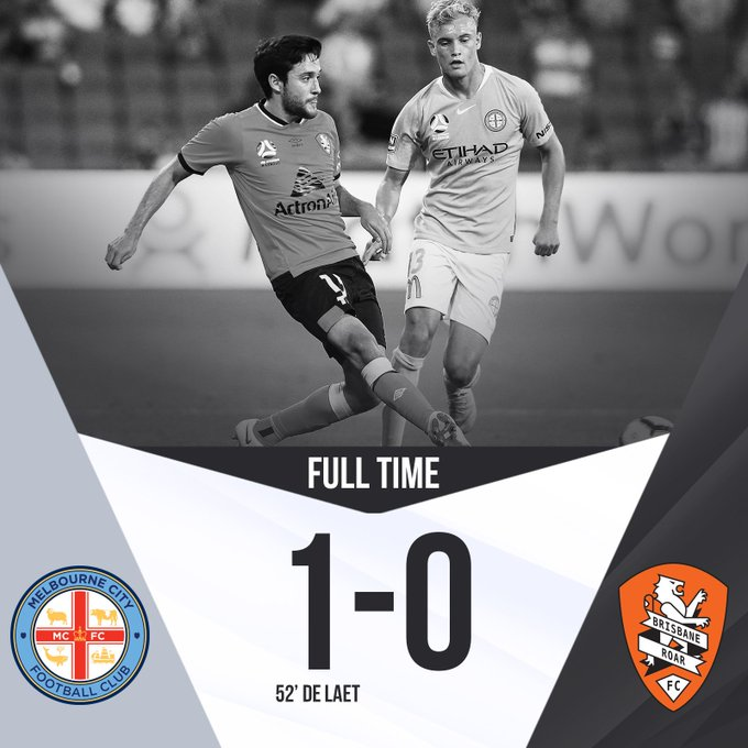 FULL TIME | @MelbourneCity secure the three points at @AAMIPark #MCYvBRI #RoarAsOne Photo