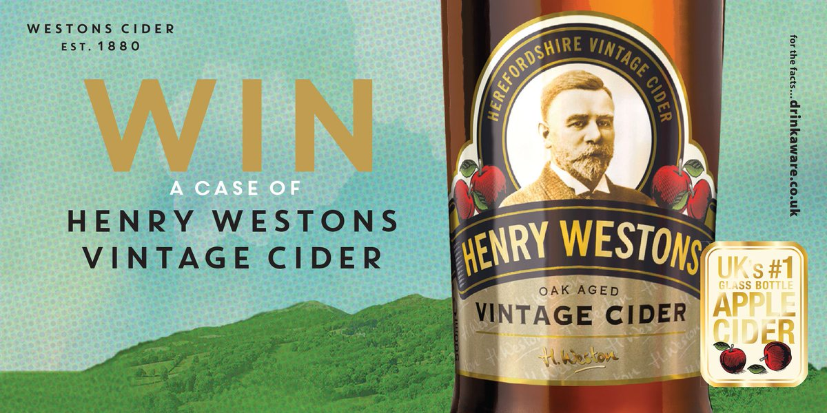 #Friyay has finally come, and we&#39;re giving you the chance to #WIN a case of @Henry_Westons #ciders!    For your chance to #WIN, simply Retweet &amp; Follow @myLondis  18+/ UK Only.  Full T&amp;C&#39;s:  http:// bit.ly/SocialTCs  &nbsp;    Closes: 17/01 23:59  #FridayFeeling<br>http://pic.twitter.com/QTPc9JvIFt