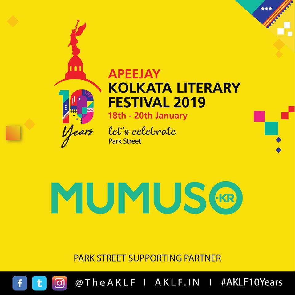 Apeejay Kolkata Literary Festival 2019 warmly welcomes @MumusoIndia as our Park Street supporting partner  #Mumuso #AKLF10Years #AKLF #Litfest #Kolkata #ParkStreet #SupportingPartner