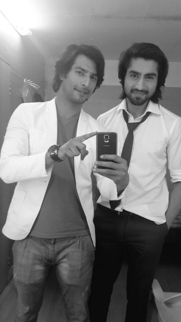 #FlashbackFriday   Harshad Chopda and Sehban Azim on the sets of #Humsafars   #HarshadChopda #SehbanAzim  #Bepannaah<br>http://pic.twitter.com/KOOhdXaJu4