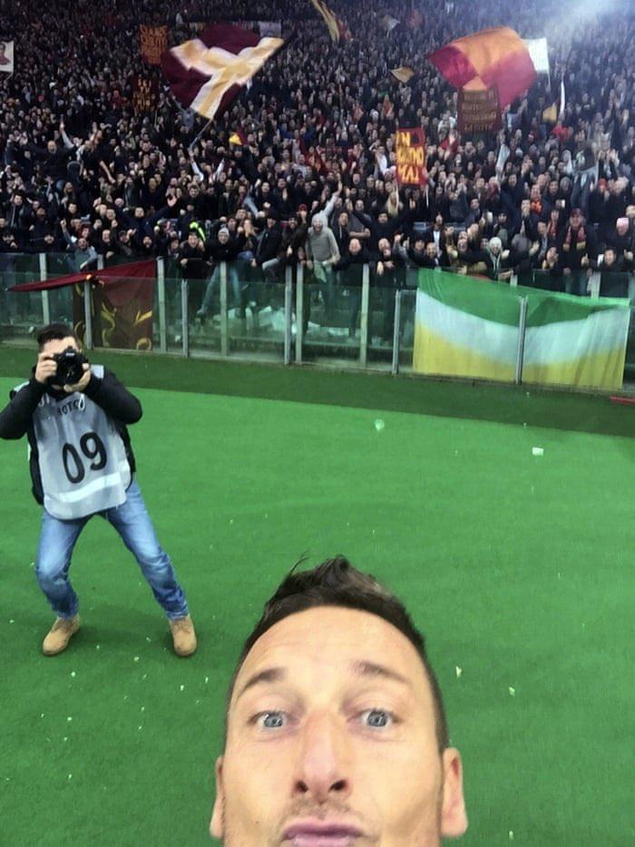 Η selfie του Τότι που έγραψε ιστορία