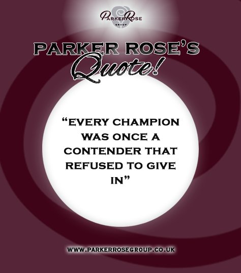 Parker Rose Group's photo on ITS FRIDAY