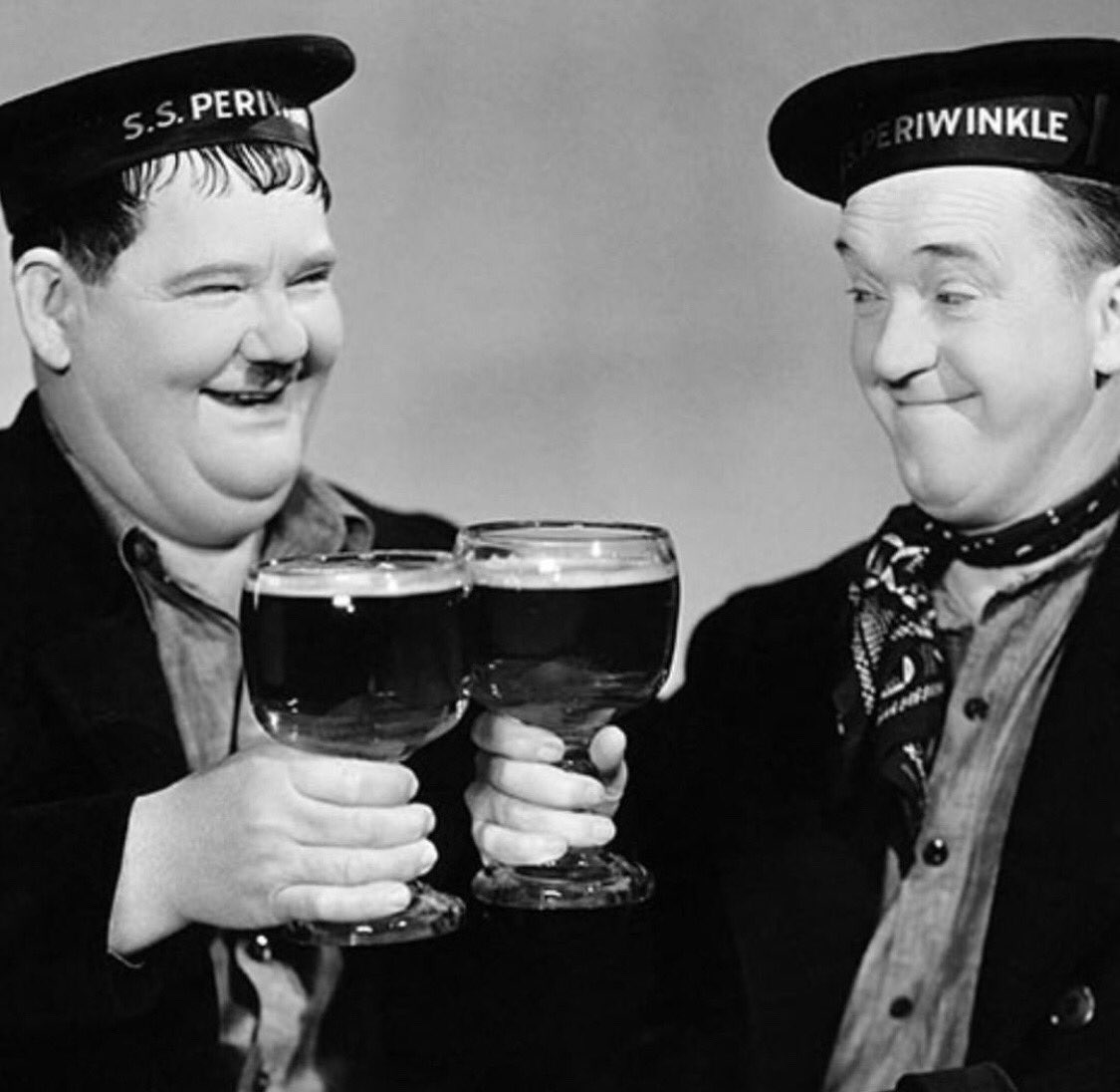 As a child I thought of them as my funny uncles.