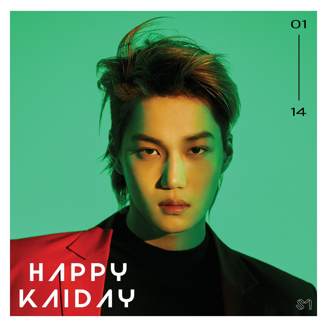 #HappyKAIDay 🎂🎉  #190114 #EXO #엑소 #KAI #카이 https://t.co/f8TCLVwsdL