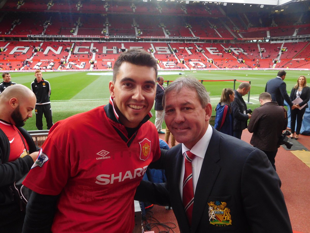 Happy Birthday Legend! Met Robbo on tour in Sydney in 2013. Then again when I visited Manchester in 2015. My dads idol growing up. A true gentleman!
