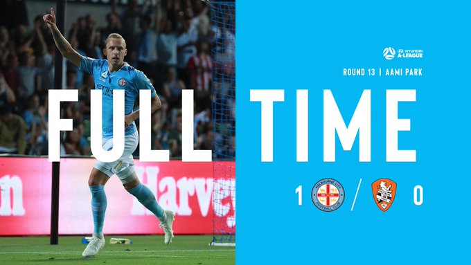 FT | City 1-0 Brisbane We make it three wins on the trot with a win over Brisbane at home. #MCYvBRI Photo