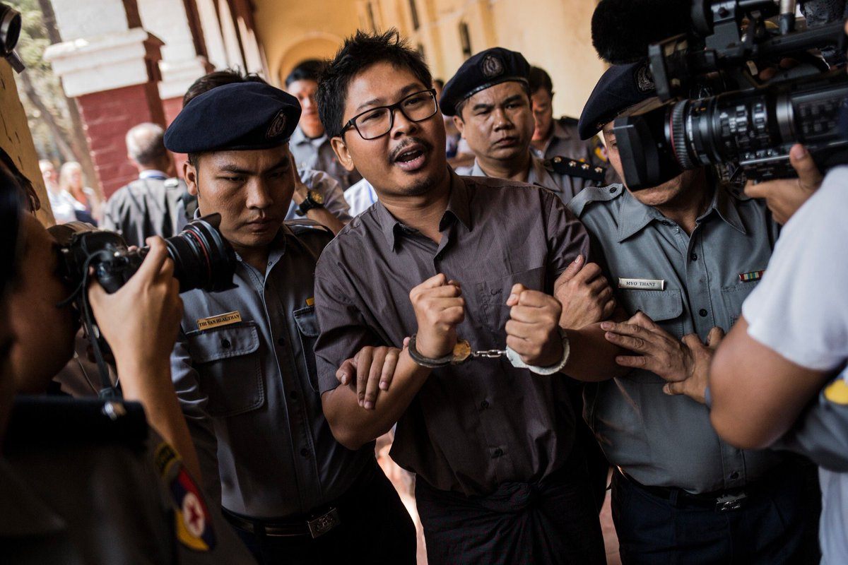 The Myanmar Times's photo on #FreeWaLoneKyawSoeOo