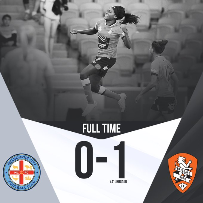 FT | What a win! We jump into the top two with a crucial win on the road. #MCYvBRI #RoarAsOne Photo