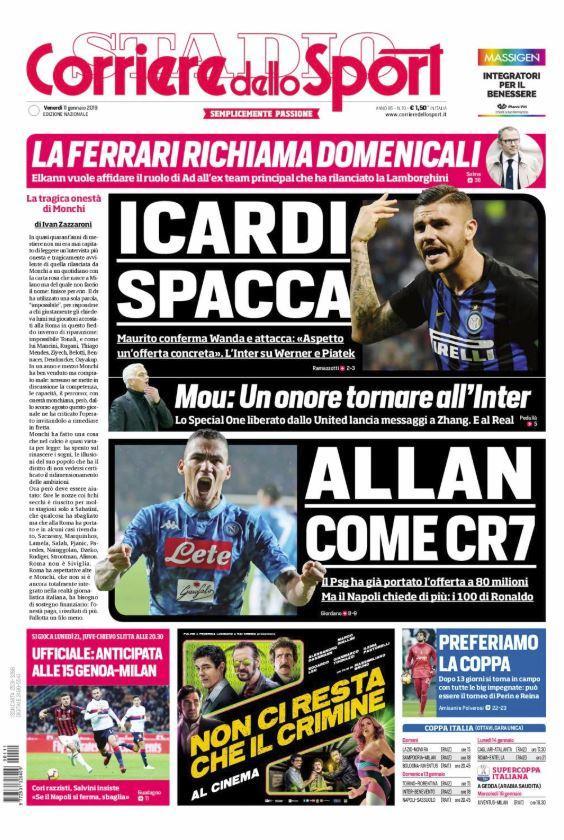 Corriere dello Sport's photo on #Icardi