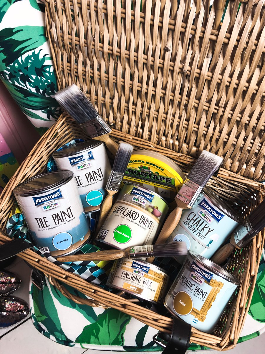 Fancy getting your DIY on this month? Upcycling furniture is so much fun and a great way to recycle! I have an epic upcycling hamper from @JohnstonesUK. Just RT &amp; follow us both to be in with a chance to win! #freebiefriday #Giveaway <br>http://pic.twitter.com/kExfzAzmye
