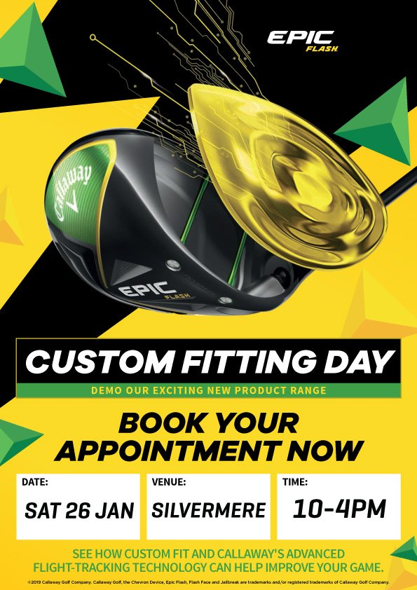 262b79e9df42f ... up of golf equipment at Silvermere: Saturday 26th January, 10am-4pm ⚡  Book your appointment here >> https://t.co/a4A325ckBf…  https://t.co/W7hmpuiVYC