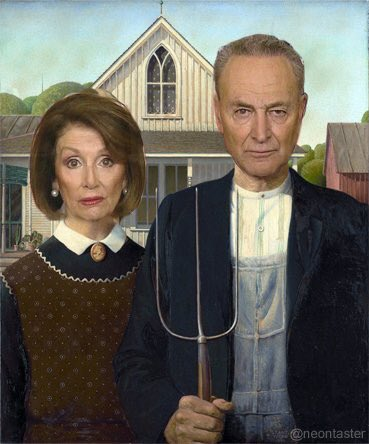 Image result for schumer and pelosi meme