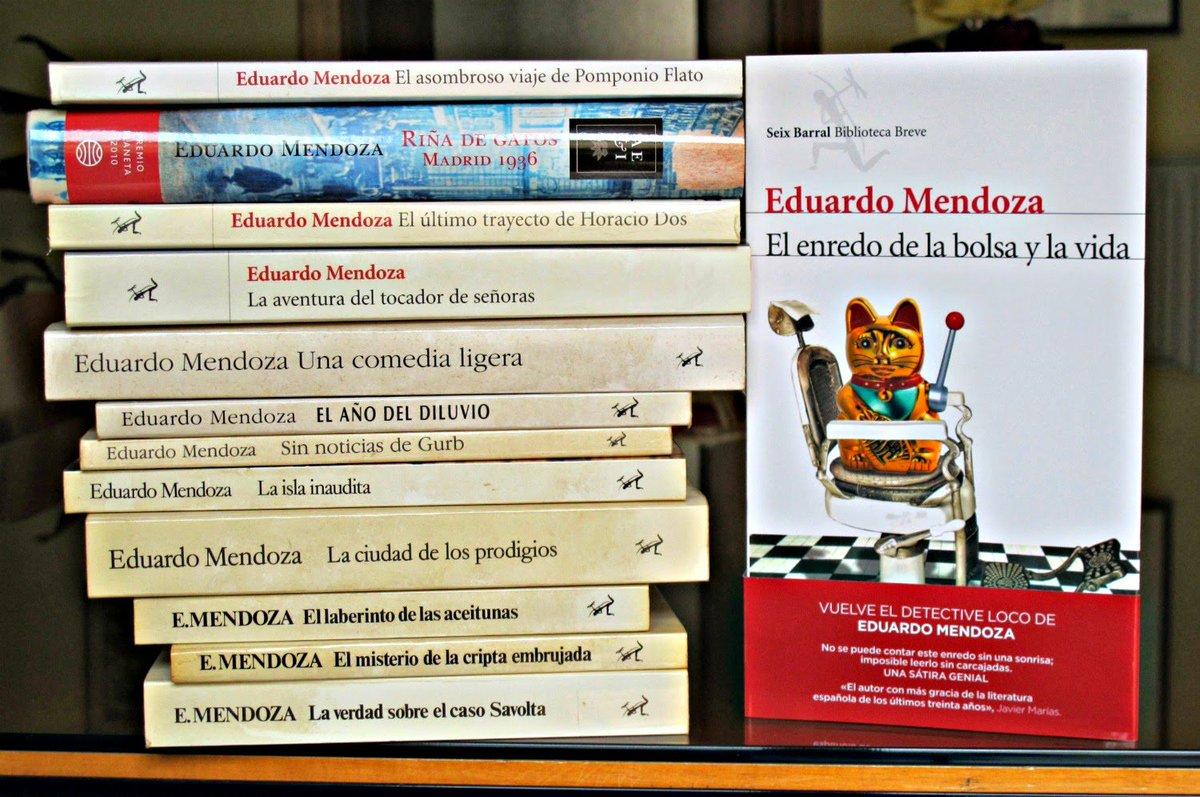 UVA-BiblioSegovia's photo on eduardo mendoza