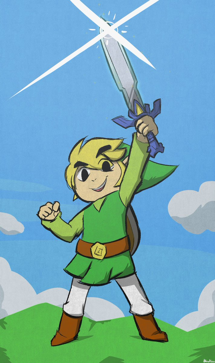 Wind waker piece for #GamesDrawnQuick! Another one of my favorite zelda games ran, I&#39;ve been loving watching the whole run! #AGDQ2019<br>http://pic.twitter.com/QbBSALrJmq