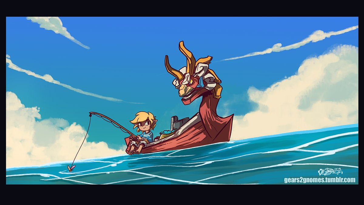 &quot;A break from Kabooom.&quot; #TheLegendOfZelda #WindWaker #AGDQ2019<br>http://pic.twitter.com/j80XvfeRk9