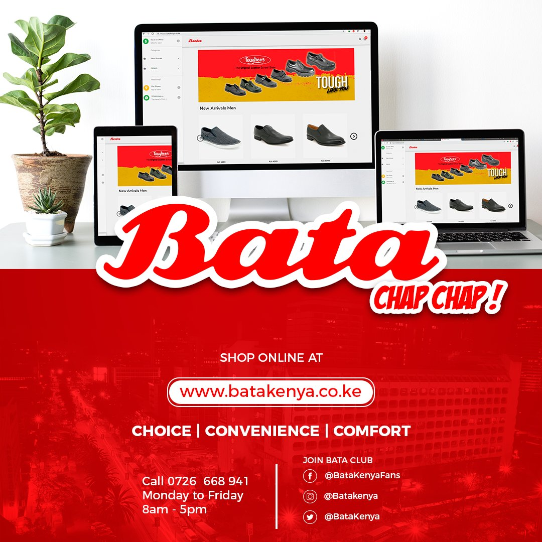 Bata Shoe Kenya P L C on Twitter: