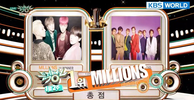 WATCH: #WINNER Takes #Millions6thWin on Music Bank Photo