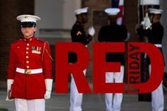 Every Friday we wear RED in honor of our men and women serving #RedFriday <br>http://pic.twitter.com/XToEF4GLIe