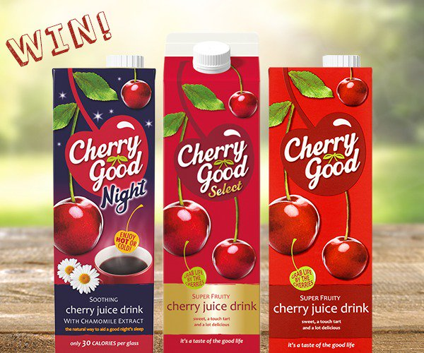 Follow, Retweet &amp; Reply to win a month's supply of Cherry Good and make 2019 a very Cherry Good one!  UK Only, Ends 17/01 at 3pm, T&amp;Cs Apply #FreebieFriday <br>http://pic.twitter.com/IZYAxfuEI0