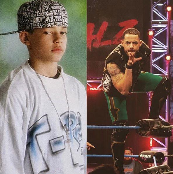 Wrestling REVOLVER's photo on #PubertyChallenge