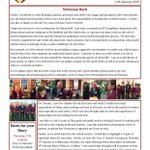 Image for the Tweet beginning: Our first Senior Newsletter of
