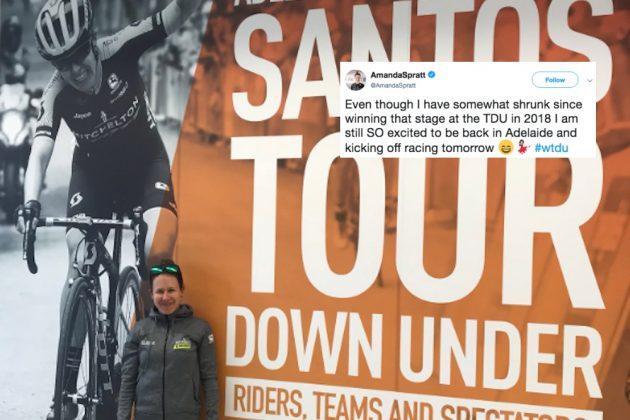 Tweets of the week: Alberto Contador, Michael Valgren, Amanda Spratt and more: @cyclingweekly Foto