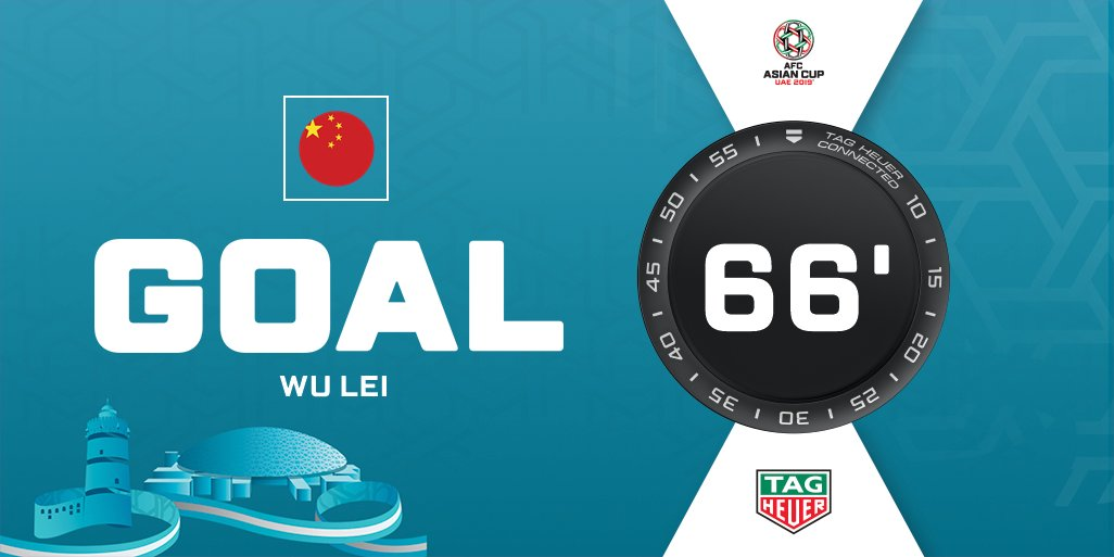 #AsianCup2019's photo on Wu Lei