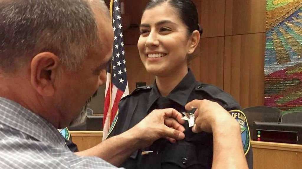 Just 6 months after graduating from the police academy, Officer Natalie Corona was murdered while responding to a vehicle collision. Our condolences go out to the @cityofdavispd and her loved ones. The entire law enforcement community mourns this loss with you. #FidelisAdMortem<br>http://pic.twitter.com/NctGLDo8sI