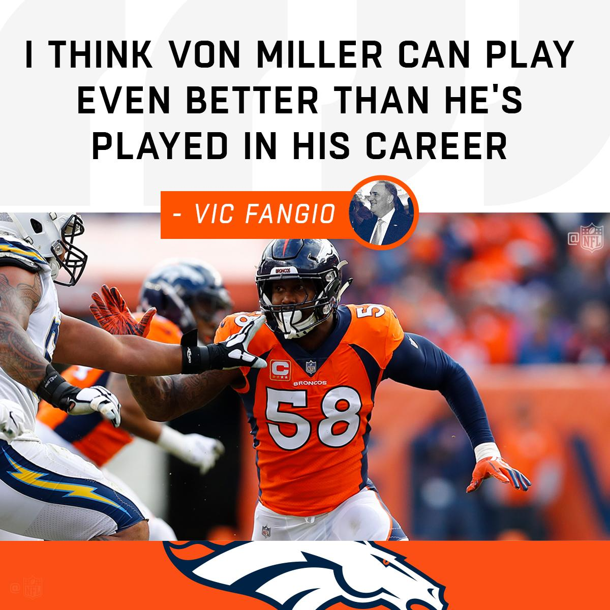 The @Broncos' new head coach could take @VonMiller to new levels: https://t.co/yawyCELEog https://t.co/sBFs2qSQrz