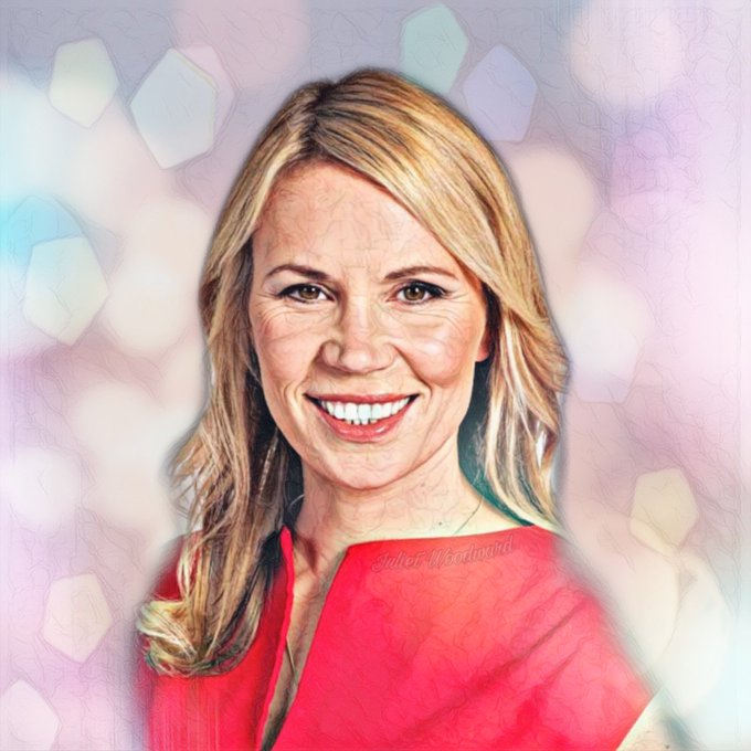 🙏 Rest in Peace Dianne Oxberry. You brought sunshine to all who knew you and to the many who watched you whatever the weather. Condolences to all who knew her and her family 🙏 Photo