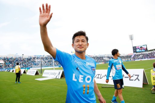 TheSportsman Transfers's photo on Kazuyoshi Miura