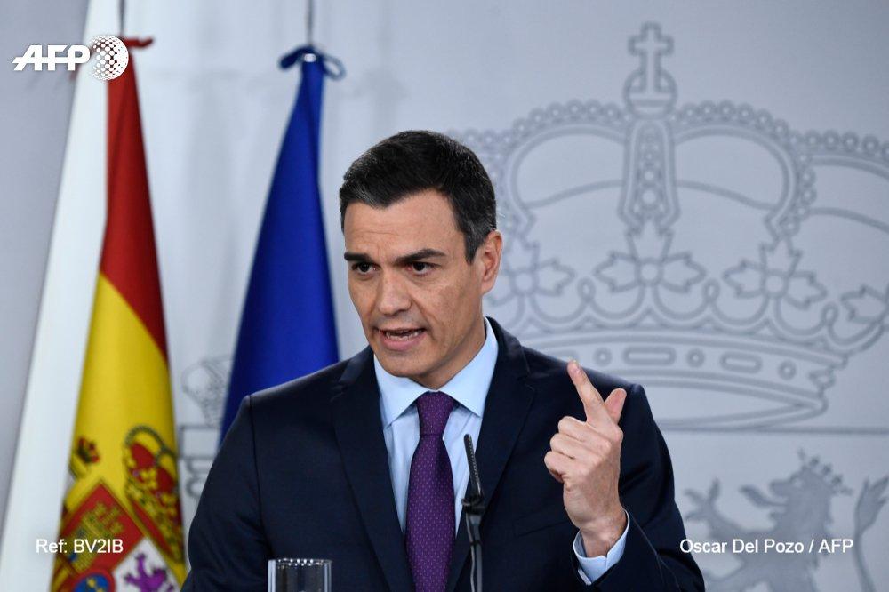 Agence France-Presse's photo on Los Presupuestos de Sánchez