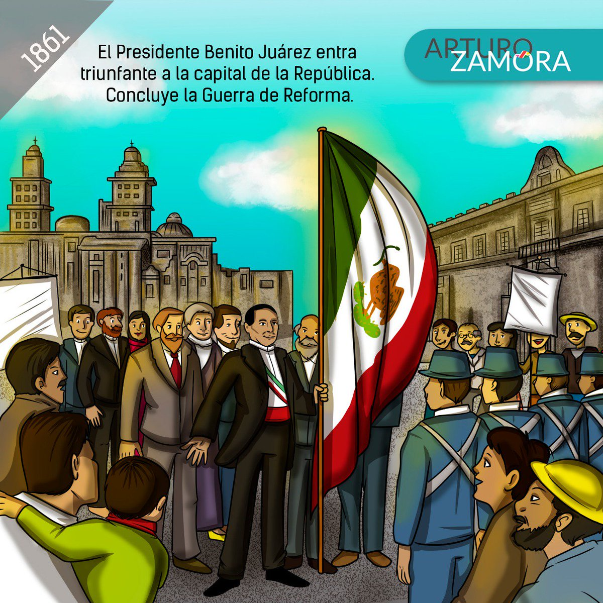 Arturo Zamora's photo on Guerra de Reforma