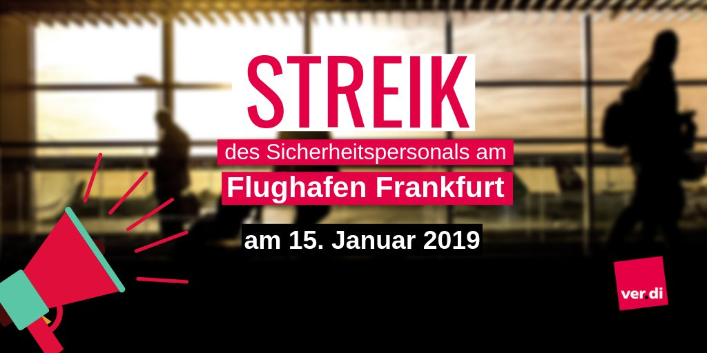 ver.di's photo on #streik