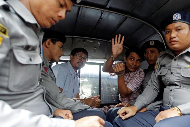 Human Rights Watch's photo on wa lone and kyaw soe oo