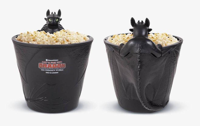 When I saw Toothless popcorn bucket ...