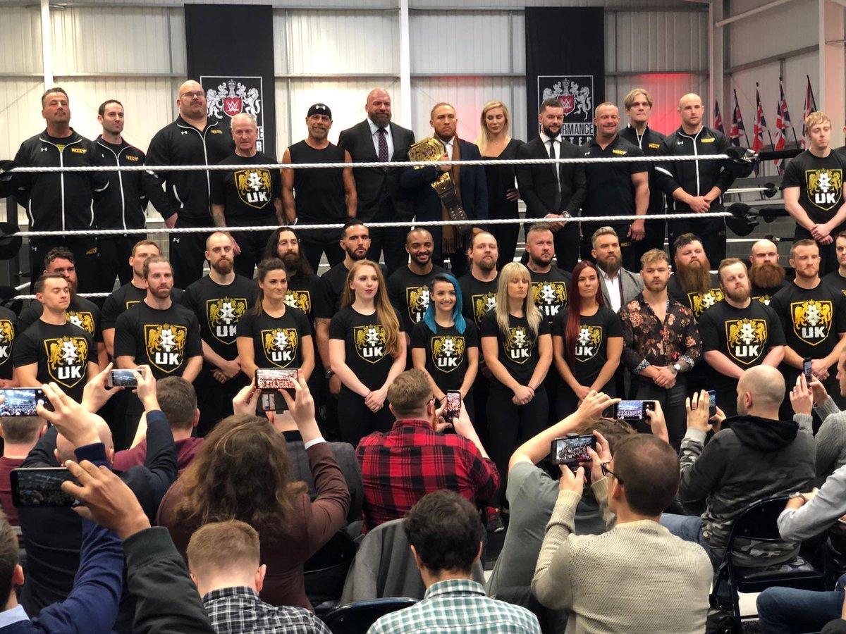 WWE Australia's photo on performance centre
