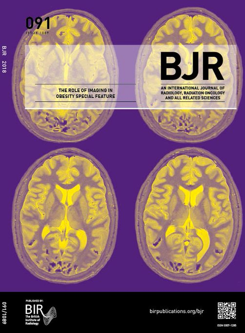 This week is #NationalObesityAwarenessWeek, so why not read our BJR special feature on the role of imaging in obesity? An excellent and absorbing collection of high quality review and research papers covering this topical and important subject. #Obesity Photo