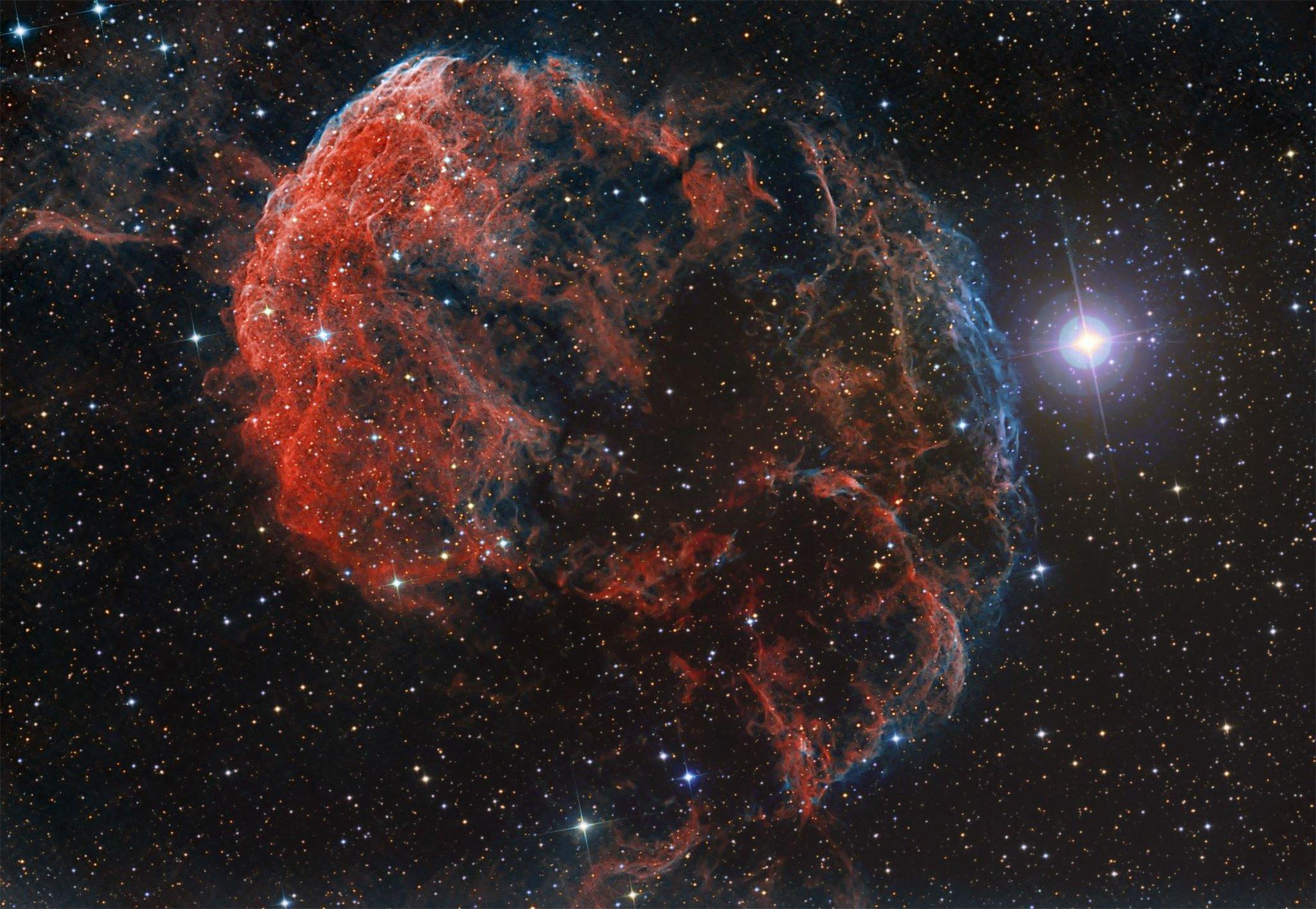 nasa finds blue star - HD1920×1080