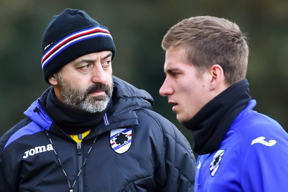 Sampdoria English's photo on #Giampaolo
