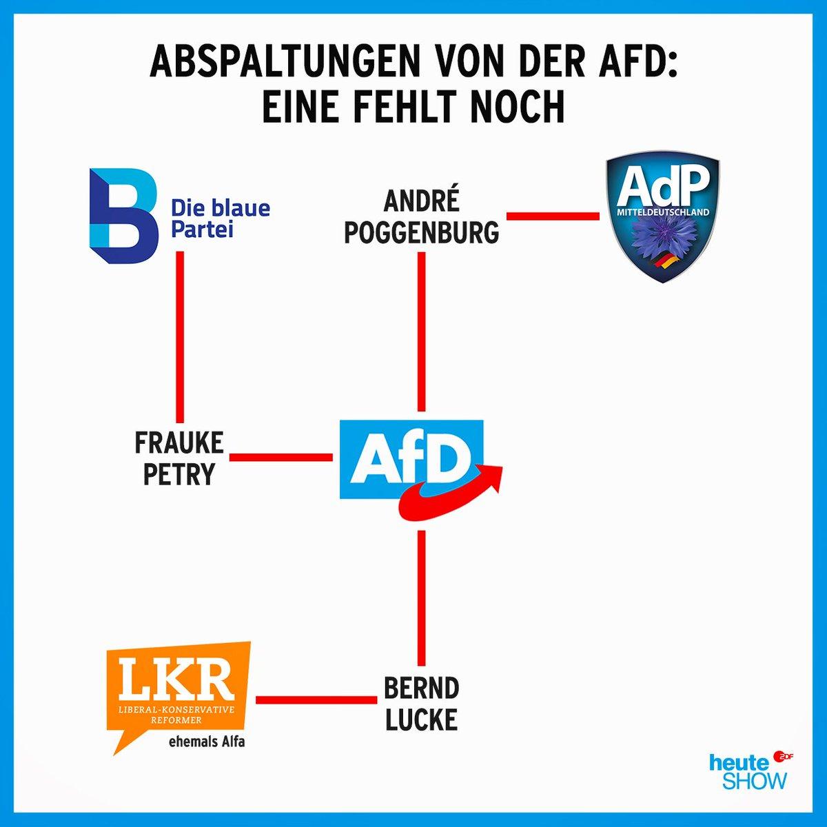 Mal war die AfD zu rechts, mal zu links... #Poggenburg https://t.co/FHgj8wgiAO
