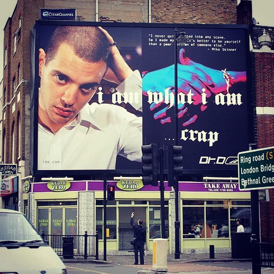 Dr.D    a.k.a.   Subvertiser's photo on mike skinner