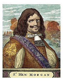 #OTD 1671 British pirate #HenryMorgan captured #PanamaCity from its Spanish defenders. <br>http://pic.twitter.com/F7w6anKjNE