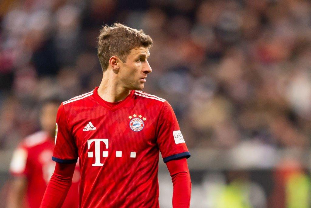 BBC Sport's photo on Thomas Muller