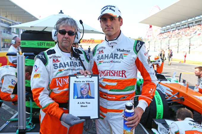 Happy Birthday ! Today Adrian Sutil meets 36 years