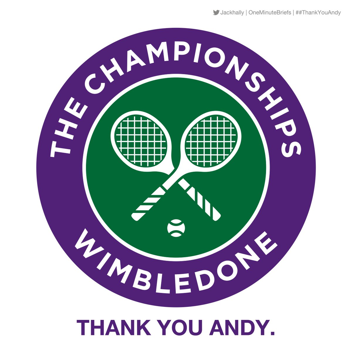 Wimble-DONE.  One Minute Brief of the Day: Create response ads for @andy_murray #Wimbledon #MurrayRetirement  #AndyMurray #creative #advertising @OneMinuteBriefs<br>http://pic.twitter.com/uvhXF2LiKv