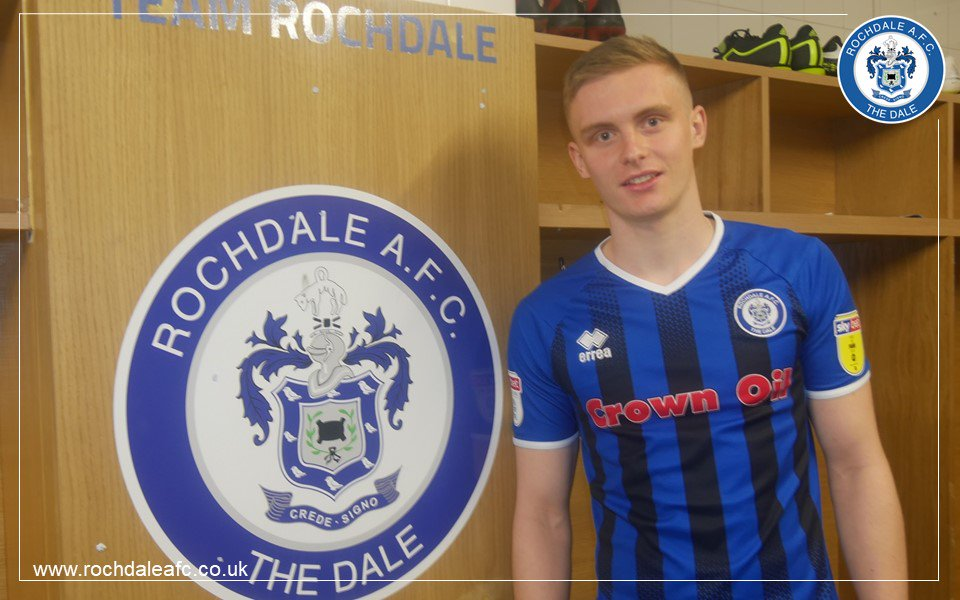 🤝 We're delighted to announce the loan signing of Ethan Hamilton from @ManUtd.  Welcome to the Club, Ethan!   👉 https://www.rochdaleafc.co.uk/news/2019/january/ethanhamilton_signsonloan/… #RAFC #ManUtd #ManchesterUnited #MUFC
