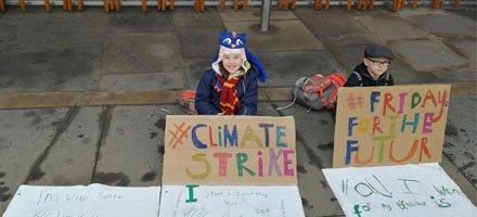 WWF Scotland's photo on #fridaysforfuture
